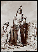 Little Big Man Chief of the Oglala Sioux under Crazy Horse in 1876 battle with Custer. He and Touch the Clouds held Crazy Horse in the Guard House where he (Crazy Horse ) was killed.