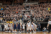 WEST LAFAYETTE, IN - JANUARY 24: Purdue Boilermakers fans try to distract a free throw during the game against the Michigan Wolverines at Mackey Arena on January 24, 2012 in West Lafayette, Indiana. Michigan defeated Purdue 66-64. (Photo by Joe Robbins/Getty Images) *** Local Caption ***