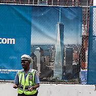 New York World trade center worksite,  contruction of the new towers