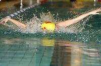 NM svømming senior/05032004/ Grottebadet i Harstad/ Cristine Fidjeland  Kristiansand SA/ 50m butterfly damer forsøk<br /> FOTO: KAJA BAARDSEN/DIGITALSPORT