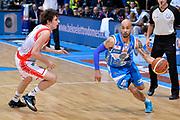 DESCRIZIONE : Final Eight Coppa Italia 2015 Semifinale Dinamo Banco di Sardegna Sassari - Grissin Bon Reggio Emilia<br /> GIOCATORE : David Logan<br /> CATEGORIA : palleggio penetrazione<br /> SQUADRA : Banco di Sardegna Sassari<br /> EVENTO : Final Eight Coppa Italia 2015 <br /> GARA : Dinamo Banco di Sardegna Sassari - Grissin Bon Reggio Emilia<br /> DATA : 21/02/2015<br /> SPORT : Pallacanestro <br /> AUTORE : Agenzia Ciamillo-Castoria/Max.Ceretti