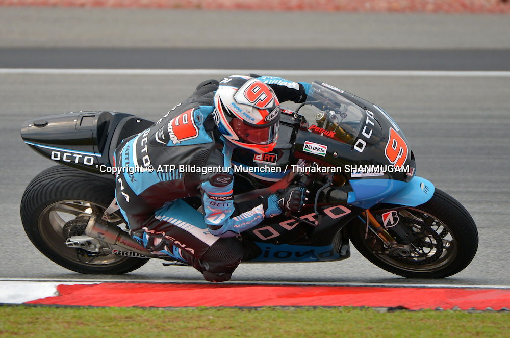 9, Danilo PETRUCCI, ITA, IodaRacing Project, ART <br /> MOTO GP, Malayia Motorcycle Grand Prix - Grosser Preis von Malaysia Motorrad-WM -  MotoGP - 24 Okt. 2014 Honorarpflichtiges Foto, Fee liable image, Copyright &copy; ATP Thinakaran SHANMUGAM
