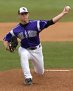 Kansas State starting pitcher Chase Bayuk gave up one run and seven hits in 6 2/3rd innings against the Cowboys.  Oklahoma State defeated K-State 9-4 in 10 innings at Tointon Stadium in Manhattan, Kansas, April 30, 2006.