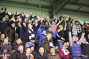 Dundee fans in fu;; voice after Iain Davidson winner -  St Mirren v Dundee, SPFL Premiership at St Mirren Park <br /> <br /> <br />  - &copy; David Young - www.davidyoungphoto.co.uk - email: davidyoungphoto@gmail.com