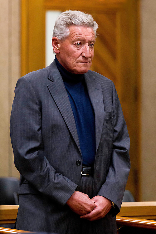 File photo of comedian and actor Jon Gadsby, defending a drink-drive charge on 26/2/2008 in the Christchurch District Court, died on Saturday of cancer aged 62 years-old at his home in Christchurch. Credit:SNPA / Martin Hunter