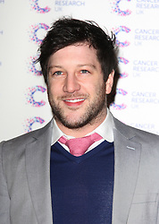MATT CARDLE attends the James' Jog-on to Cancer charity fundraiser, Kensington Roof Gardens, April 3, 2013 in London, England. Photo by: i-Images..