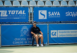 Referee during Day 6 at ATP Challenger Zavarovalnica Sava Slovenia Open 2018, on August 8, 2018 in Sports centre, Portoroz/Portorose, Slovenia. Photo by Vid Ponikvar / Sportida