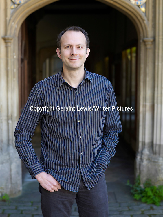 Tim Harford, Financial Times Undercover Economist and writer at The Oxford Literary Festival at Christchurch College Oxford. Taken 27th March 2012<br /> <br /> Credit Geraint Lewis/Writer Pictures<br /> <br /> WORLD RIGHTS