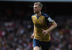 Per Mertesacker of Arsenal  - Mandatory by-line: Joe Meredith/JMP - 25/07/2015 - SPORT - FOOTBALL - London,England - Emirates Stadium - Arsenal v Lyon - Emirates Cup