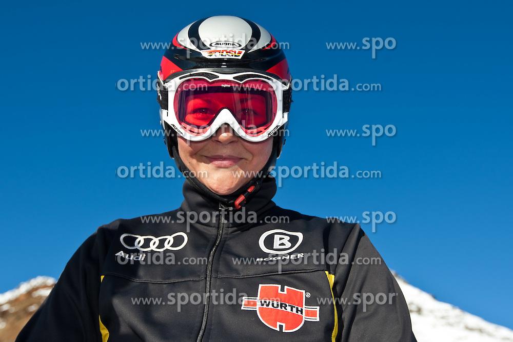 04.10.2010, Rettenbachferner, Soelden, AUT, Medientag des Deutschen Skiverband 2010, im Bild Fanny Chmelar. EXPA Pictures © 2010, PhotoCredit: EXPA/ J. Groder