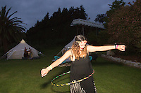 boho kiwi experience summer festival for new zealand travel agents, tour operators and accommodation providers at the waitomo caves homestead lotus tents body painting tarot card reading festival photography by coromandel photographer felicity jean photography
