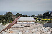 Odawara, Kanagawa Prefecture, Japan, March 27 2018 - The Enoura Observatory, founded by Japanese artist Hiroshi SUGIMOTO, opened in October 2017.