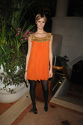 JACQUETTA WHEELER at The Diner Des Tsars in aid of Unicef to celebrate the launch of Quintessentially Wine held at the Guildhall, London EC2 on 29th March 2007.<br />