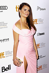 Actress PENELOPE CRUZ at the 'Twice Born' premiere during the 2012 Toronto International Film Festival at Roy Thomson Hall, September 13th 2012. Photo by David Tabor/ i-Images.