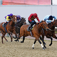 Hard Wallnut and Jamie Spencer winning the 4.05 race