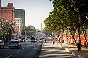 Streets of Yangon, looking to Sule Paya