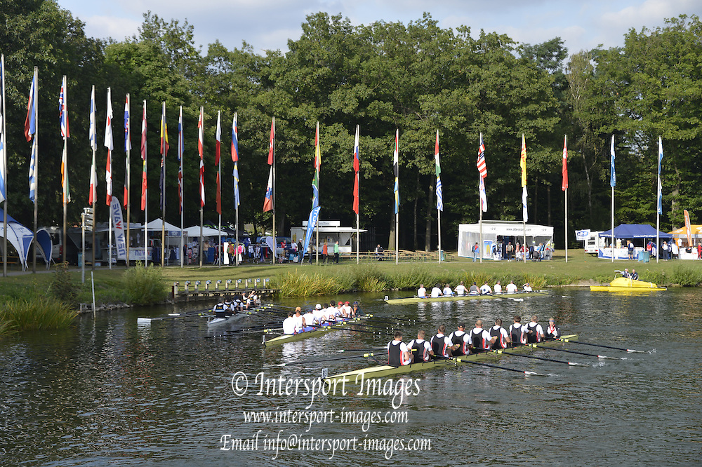 Duisburg, GERMANY.  FISA Masters World Championship. .Wedau Regatta Course .16:34:53  Thursday  06/09/2012   ..[Mandatory Credit Peter Spurrier:  Intersport Images]  ..Rowing, Masterss, 2012010472.jpg...