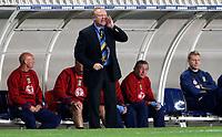Photo: Richard Lane/Sportsbeat Images.<br />France v Scotland. UEFA European Championships Qualifying. 12/09/2007. <br />Scotland coach, Alex McLeish.