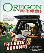 Tailgating Party at Hayworth Vineyards in Eugene, Oregon