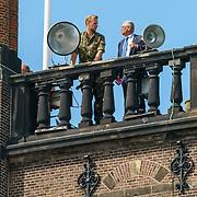 NLD/Den Haag/20180831 - Koninklijke Willems orde voor vlieger Roy de Ruiter, beveiliging, uitkijkposten