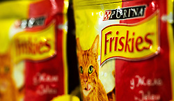 November 20, 2018 - Kiev, Ukraine - Friskies Dry Cat Food seen at the store. (Credit Image: © Igor Golovniov/SOPA Images via ZUMA Wire)