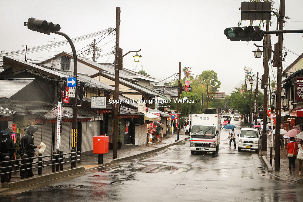 A small town in Kyoto Prefectures, Japan