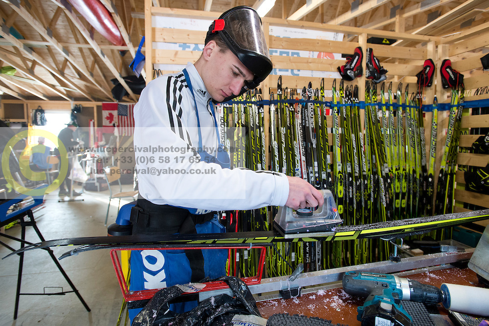 Wax Room, GER, Long Distance Cross Country, 2015 IPC Nordic and Biathlon World Cup Finals, Surnadal, Norway