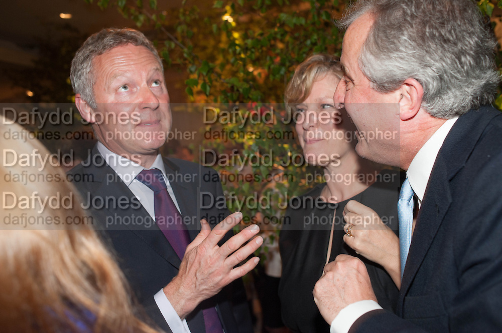 RORY BREMNER; COUNTESS OF MARCH; LORD ASTOR, The Cartier Chelsea Flower show dinner. Hurlingham club, London. 20 May 2013.