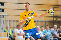 Marguc Gal of RK Celje Pivovarna Lasko  during handball match between RK Krka and RK Celje Pivovarna Lasko in the Final of Slovenian Men Handball Cup 2018, on April 22, 2018 in Sportna dvorana Ljutomer , Ljutomer, Slovenia. Photo by Mario Horvat / Sportida