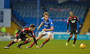 Portsmouth defender Matt Clarke during the Sky Bet League 2 match between Portsmouth and Crawley Town at Fratton Park, Portsmouth, England on 2 January 2016. Photo by Adam Rivers.