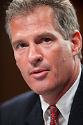 June 28, 2010 - Washington, District of Columbia, U.S., -  Senator Scott Brown presents Solicitor General Elena Kagan to the the Senate Judiciary Committee for hearings on her nomination to be an associate justice of the Supreme Court.(Credit Image: © Pete Marovich/ZUMA Press)