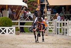 Moerings Bas, NED, Hardesther<br /> Nederlands Kampioenschap Springen<br /> De Peelbergen - Kronenberg 2020<br /> © Hippo Foto - Dirk Caremans<br />  09/08/2020