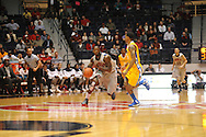 "Ole Miss' Murphy Holloway (31) is fouled by McNeese State's Dontae Cannon (5) at the C.M. ""Tad"" Smith Coliseum in Oxford, Miss. on Tuesday, November 20, 2012. .."