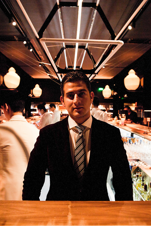 Hektor Monroy (bar manager) at Unico.