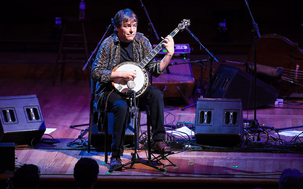 Béla Fleck & Abigail Washburn at Sanders Theatre, Cambridge