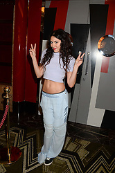 ELIZA DOOLITTLE at a private performance by Frances Ruffelle entitled 'Paris Original' at The Crazy Coqs, Brasserie Zedel, 20 Sherwood Street, London on 8th October 2013.