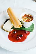 dessert on the Eastern & Oriental Train