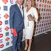 NLD/Amsterdam/20190919 - Premiere Show Johnny de Mol, Pauline Wingelaar en partner Harmen