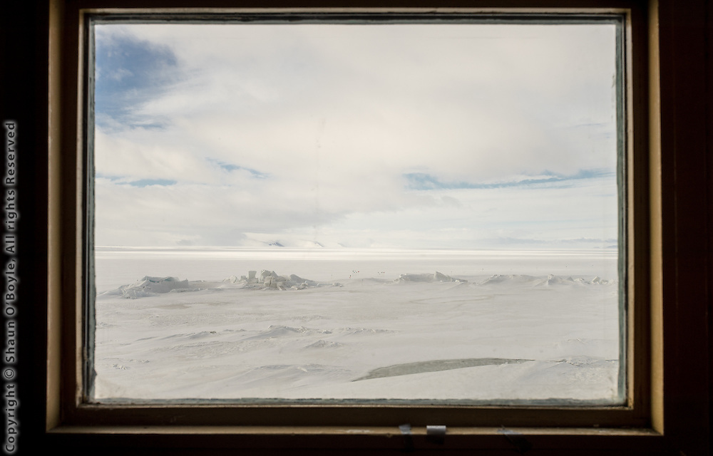 View from Hut A, New Zealand's Scott Base, Antarctica