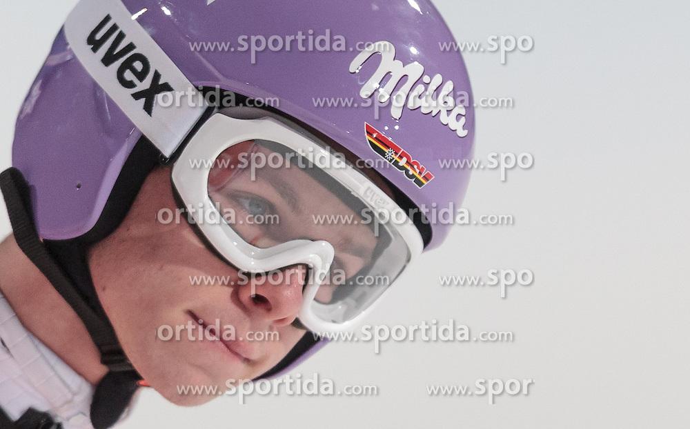 06.01.2016, Paul Ausserleitner Schanze, Bischofshofen, AUT, FIS Weltcup Ski Sprung, Vierschanzentournee, Bischofshofen, Finale, im Bild Andreas Wellinger (GER) // Andreas Wellinger of Germany reacts after his 1st round jump of the Four Hills Tournament of FIS Ski Jumping World Cup at the Paul Ausserleitner Schanze in Bischofshofen, Austria on 2016/01/06. EXPA Pictures © 2016, PhotoCredit: EXPA/ JFK