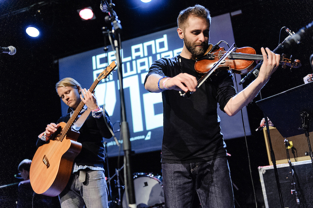 Photos of the Icelandic band Arstidir performing live for Iceland Airwaves Music Festival at Idno in Reykjavik, Iceland. November 1, 2012. Copyright © 2012 Matthew Eisman. All Rights Reserved.