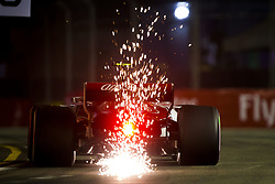 September 15, 2018 - Singapore, Singapore - Motorsports: FIA Formula One World Championship 2018, Grand Prix of Singapore, .#16 Charles Leclerc (MCO, Alfa Romeo Sauber F1 Team) (Credit Image: © Hoch Zwei via ZUMA Wire)