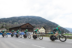 16.04.2013, Lavanterstrasse, Doelsach, AUT, Giro del Trentino, Teamzeitfahren, im Bild // during Team time Race, of the Giro del Trentino at the Lavanterstrasse, Doelsach, , Austria on 2013/04/16. EXPA Pictures © 2013, PhotoCredit: EXPA/ Johann Groder