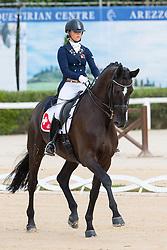 Wettstein Estelle (SUI) - Friedrich der Grosse<br /> European Championships Dressage Junior and Young Riders 2014<br /> © Hippo Foto - Leanjo de Koster