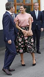 May 30, 2017 - Stockholm, Sweden - Crown Princess Victoria of Sweden,..Official visit from Denmark, Visit to Stockholm Vatten, Drottningholm, Stockholm, Sweden 2017-05-30..(c) Ola Axman / IBL....Officiellt besök frÃ¥n Kronprinsparet av Danmark, besök, Stockholm Vatten, Drottningholm, 2017-05-30 (Credit Image: © Ola Axman/IBL via ZUMA Press)