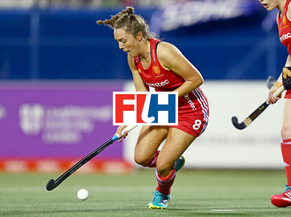New Zealand, Auckland - 19/11/17  <br /> Sentinel Homes Women&rsquo;s Hockey World League Final<br /> Harbour Hockey Stadium<br /> Copyrigth: Worldsportpics, Rodrigo Jaramillo<br /> Match ID: 10298 - ARG vs ENG<br /> Photo: (8) PAIGE Olivia