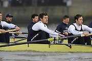 Putney, GREAT BRITAIN,    left, Sjoerd HAMBURGER, Stroke Colin SMITHduring the 2008 Varsity/Oxford University [OUBC] Trial Eights, raced over the championship course. Putney to Mortlake, on the River Thames. Thurs. 11.08.2008 [Mandatory Credit, Peter Spurrier/Intersport-images] Varsity Boat Race, Rowing Course: River Thames, Championship course, Putney to Mortlake 4.25 Miles,