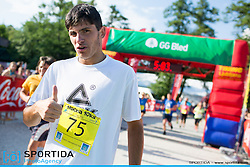 Ozarin tek at 10th Nocna 10ka 2016, traditional run around Bled's lake, on July 09, 2016 in Bled,  Slovenia. Photo by Urban Urbanc / Sportida