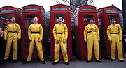 DEVO Photosession London 1978