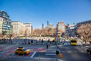 Union Square plaza and architecture
